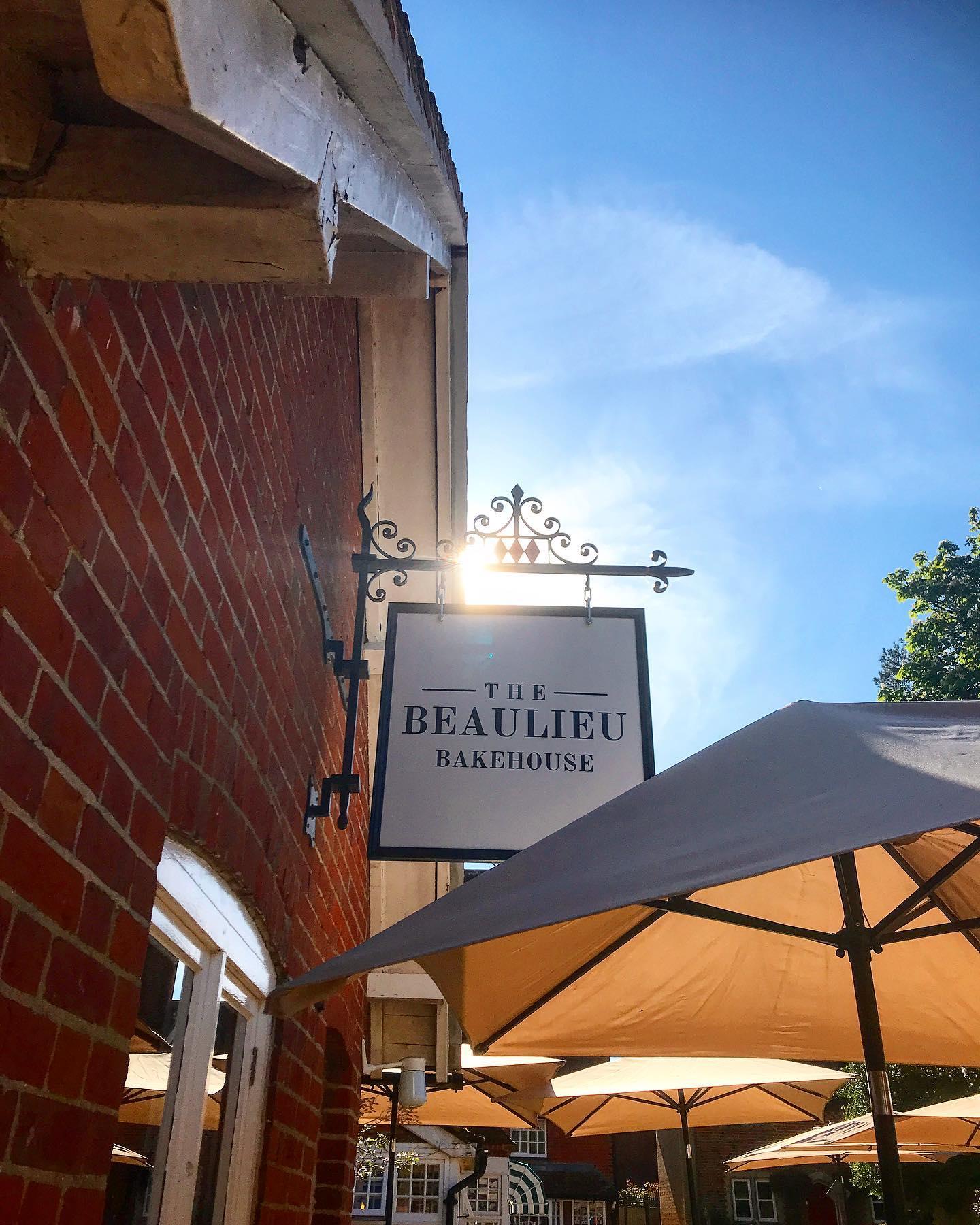 The Beaulieu Bakehouse Sign