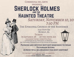 Sherlock Holmes& the Haunted Theatre