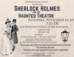 Sherlock Holmes& the Haunted Theatre