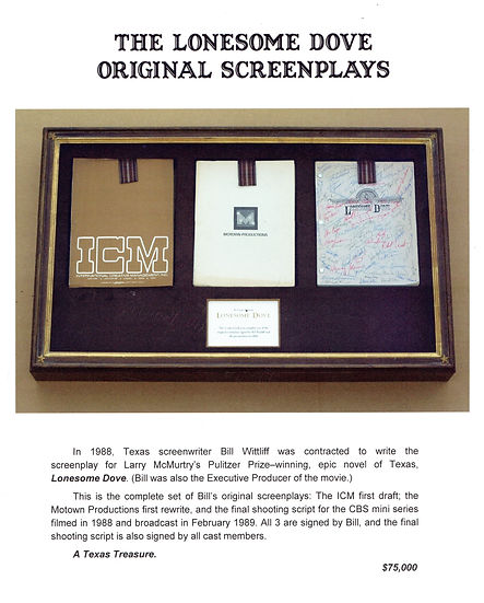 The Lonesome Dove Original Screenplays.j