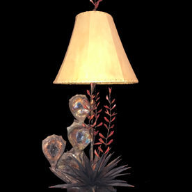 Red Yucca 3 Branches Lamp