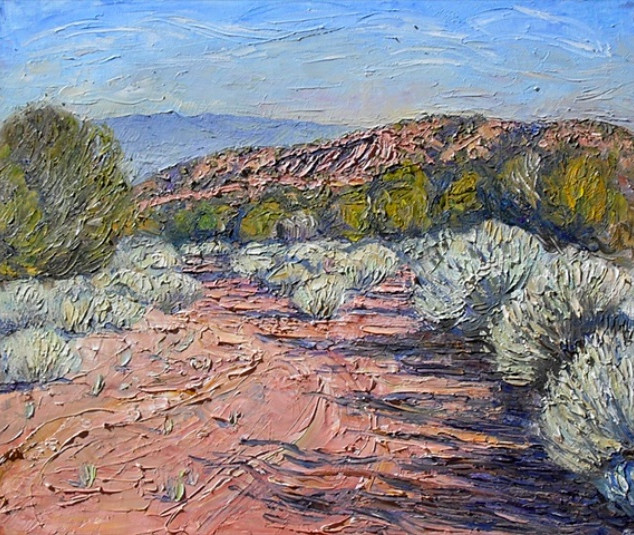 Tesuque - New Mexico Series (SOLD) 20 x
