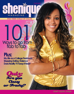 Shenique Magazine cover
