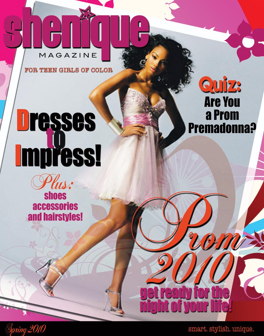 Shenique Magazine cover