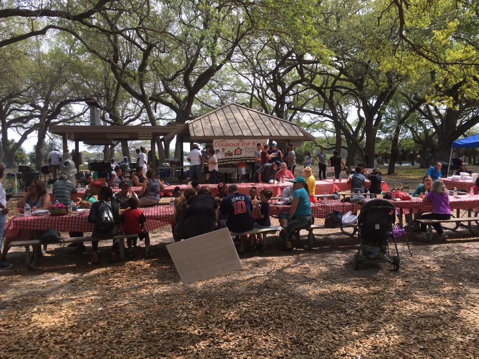 Christian Homes for Children Cookout