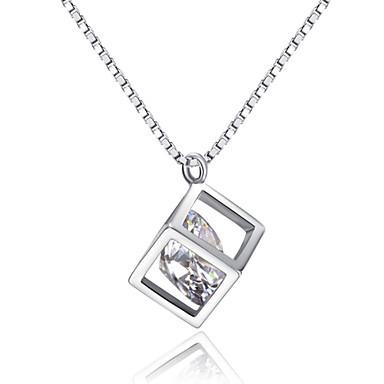 Diamante pendant necklace cubic aloadofball Images