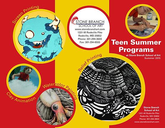 Our Teen Summer Art 3