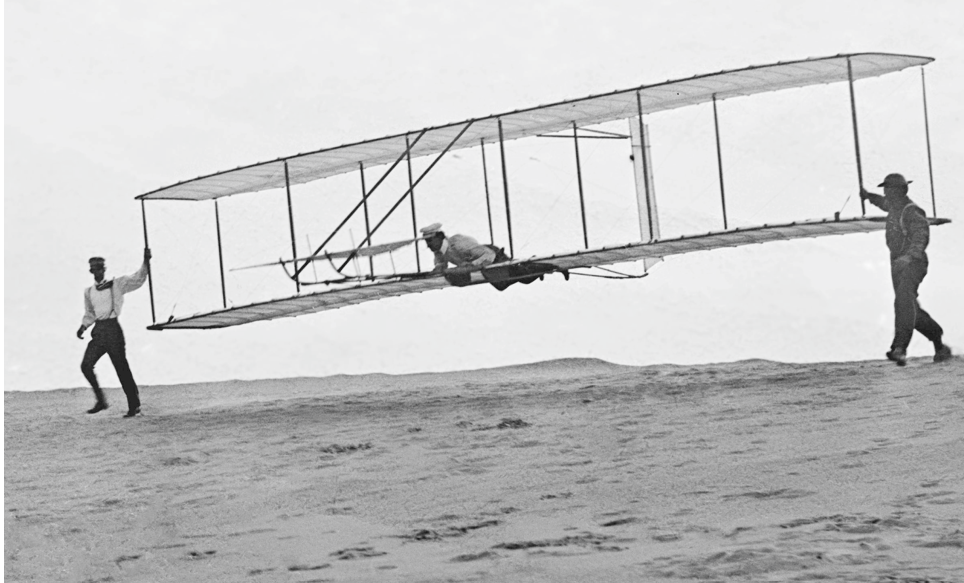 First plane made by Wright brothers