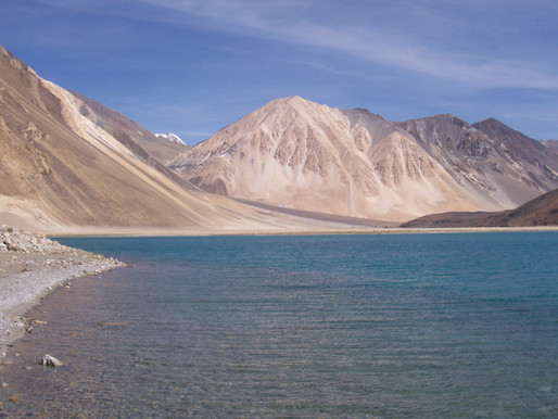 The Pangong Tso