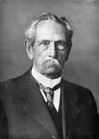 Portrait of Carl Benz
