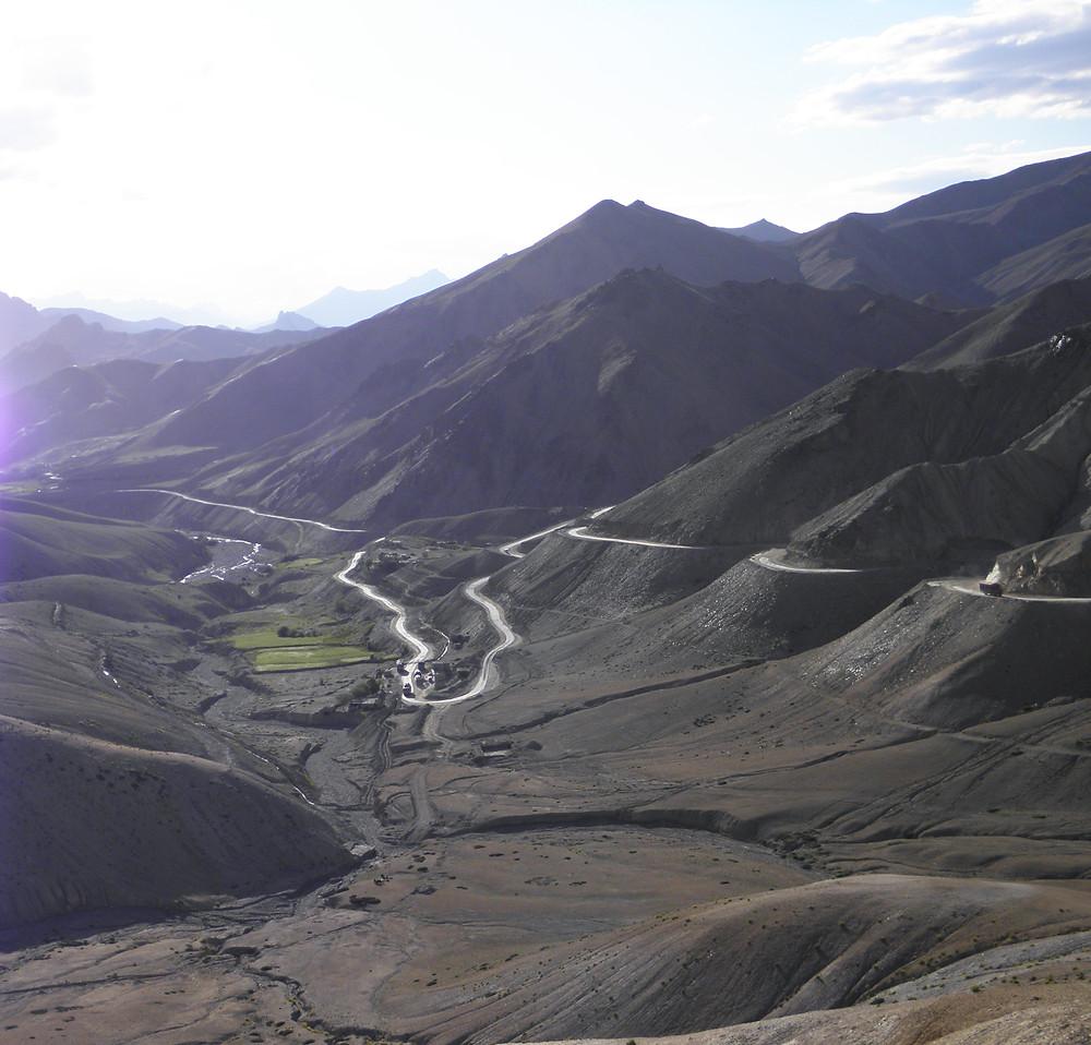 A Glimpse of NH1, Ladakh