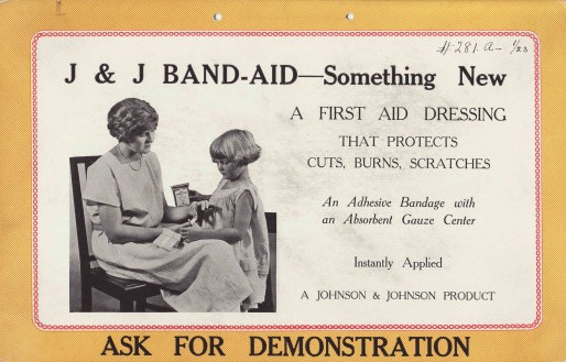 Invention of Band-Aid