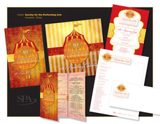 Society for the Performing Arts - 50th Anniversary Invitation