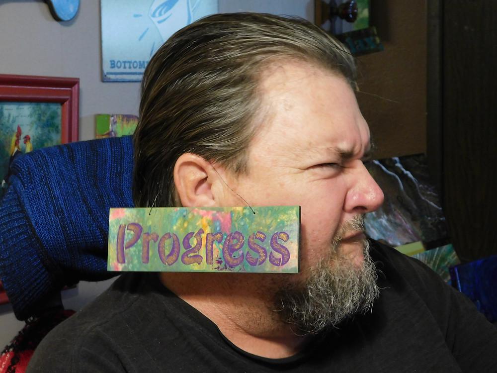 Yes! Progress!... My miracle man!