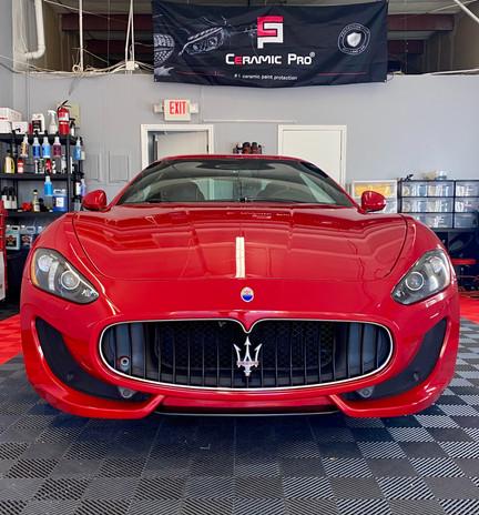 2015 Maserati best ceramic coating ceramic pro lenexa