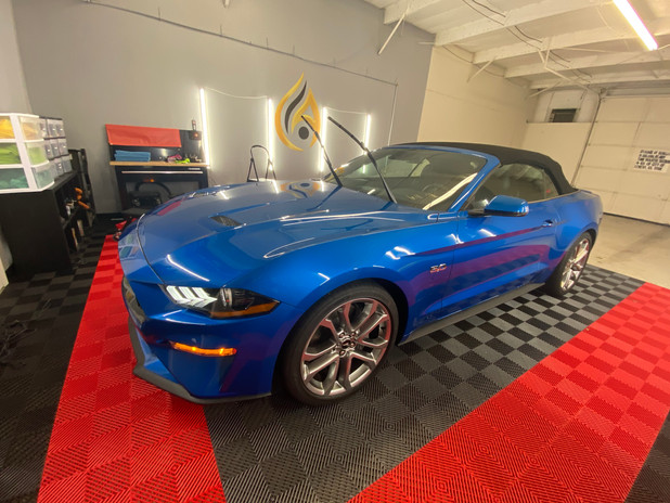 2021 Mustang GT  best ceramic coating ceramic pro lenexa