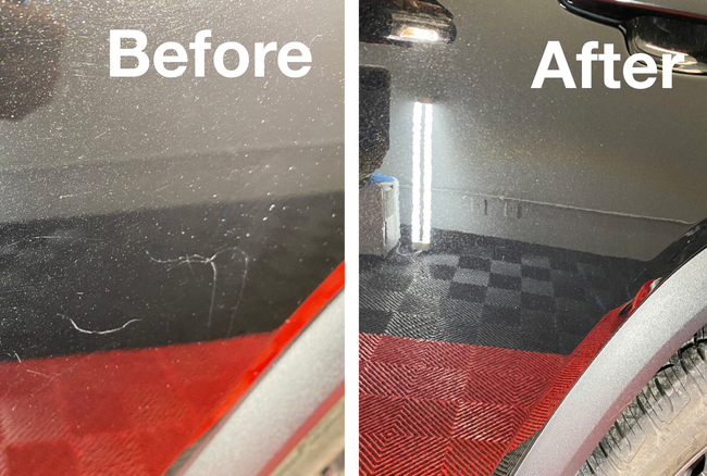 paint correction and ceramic coating lenexa