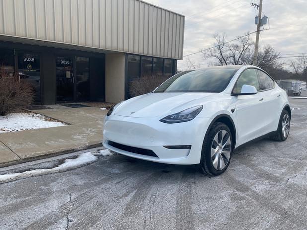 2021 Tesla Model Y  best ceramic coating ceramic pro lenexa