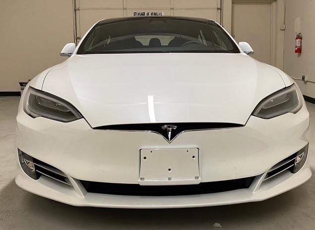 2021 Tesla Model S best ceramic coating ceramic pro lenexa