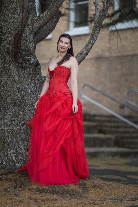 'Siren' gown