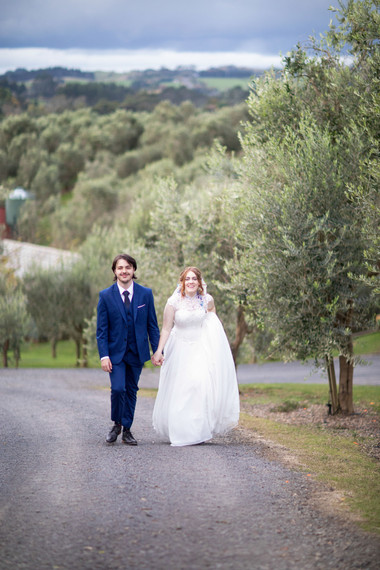 'Butterfly' wedding dress
