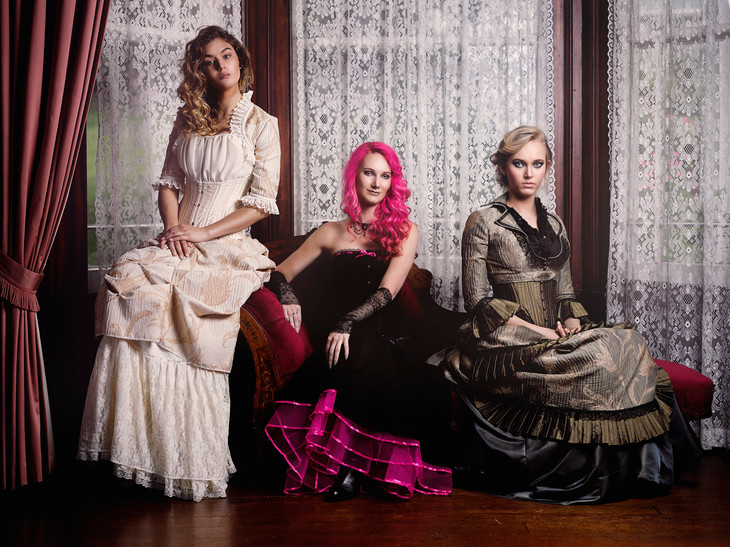 Victorian and Steampunk gowns