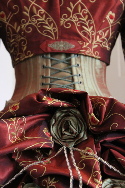 Autumn Victorian dress
