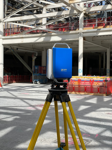 New Zealand International Convention Center Laser Scanning