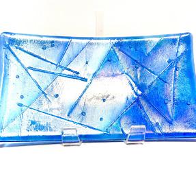 Iced Turquoise Iridescent Designer Accent