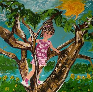 Girl in Tree $450