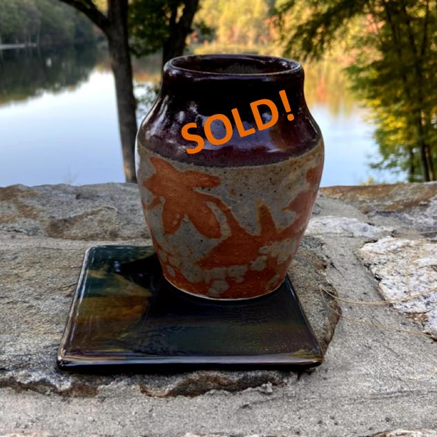 Autumn Leaf Vase - SOLD!.png