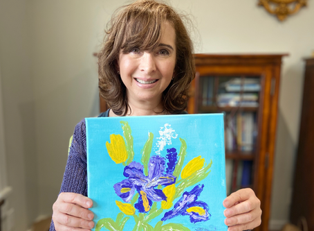 Adult Finger Painting