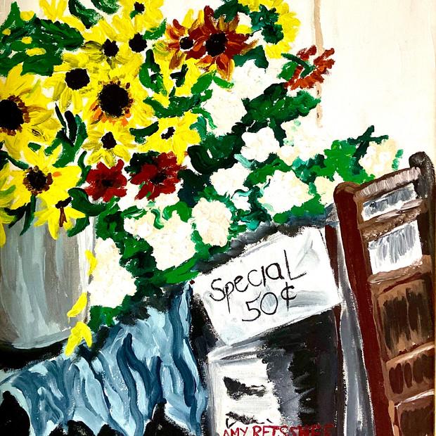 50¢ Bouquet $150
