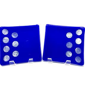 Celebration in Blue Tasting Plates