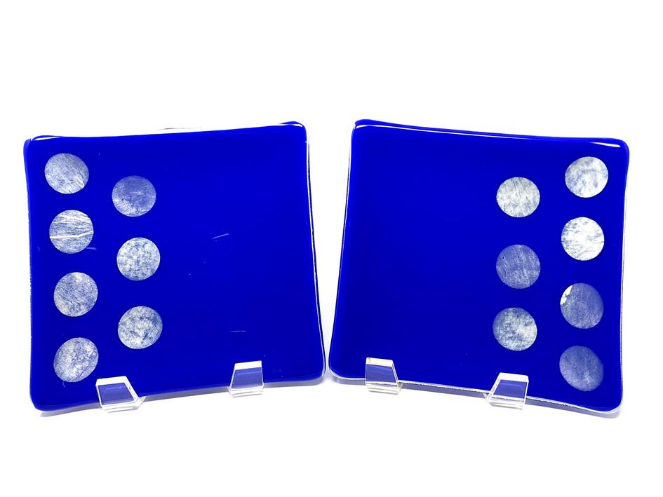 Celebration in Blue Tapas Plates