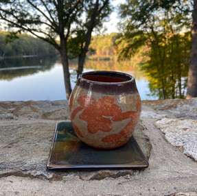 Autumn Leaf Vase - Small