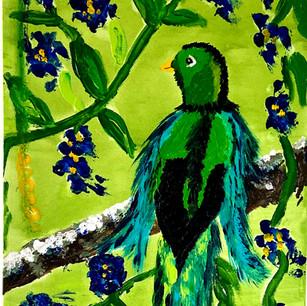 Bird on a Branch $125