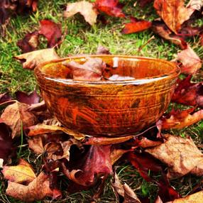 Autumn Flame Bowl