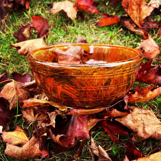 Autumn Flame Bowl