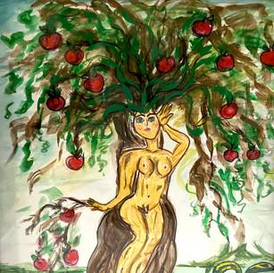 Woman Bearing Fruit $100