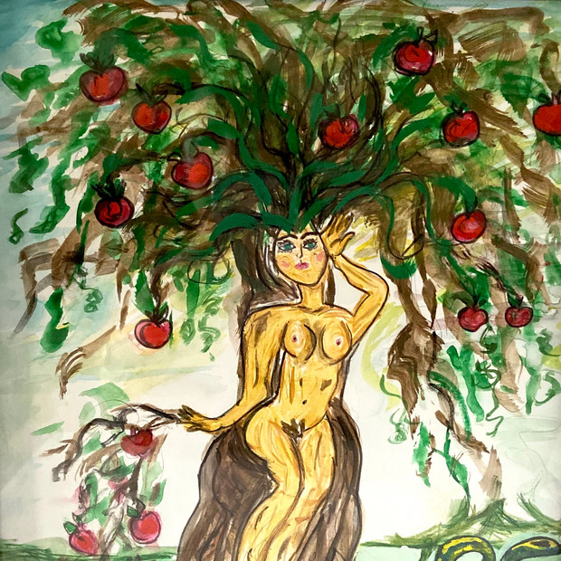 Woman Bearing Fruit $100