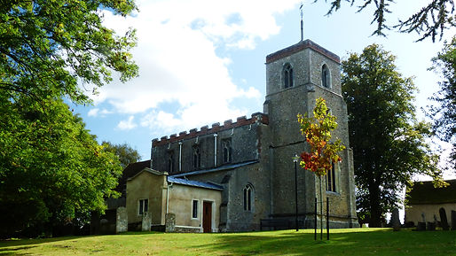 St Andrew's Prish Church Shalford Essex