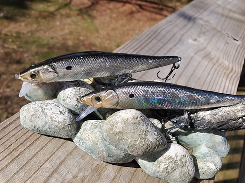 Megabass Style Jerkbaits - Vintage Holographic SOLD INDIVIDUALLY