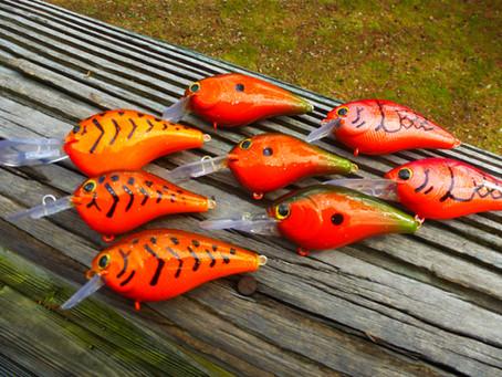 Secrets to fishing Crawfish Colored Crankbaits