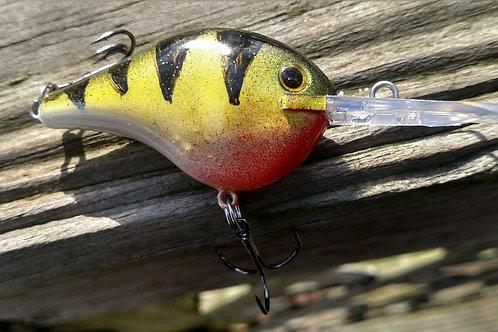 Rapala Style DT Crankbait - Yellow Perch