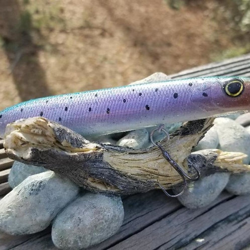 Purple Goby Evergreen Blow Style Topwater Plug