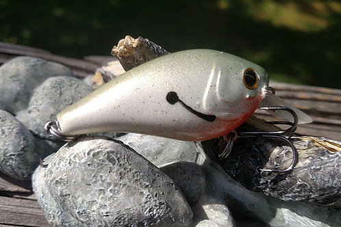 Luckycraft Style Squarebill Crankbait - PEARL REAL SHAD