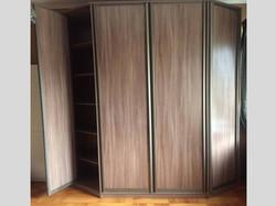 Шкаф с гранями