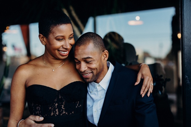 Desi and Janell's Wedding Engagement Photo