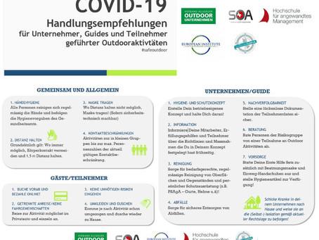 Endlich gehts los. Wir starten ab morgen 15.5.20 unsere Saison mit angepassten COVID 19 Maßnahmen